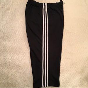 Adidas Black & White Capris